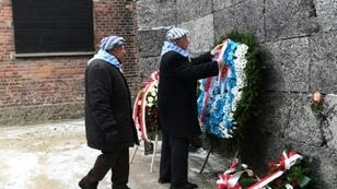 Former prisoners attended the ceremony marking the 74th anniversary of the liberation of former German Nazi death camp Auschwitz-Birkenau