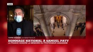 2020-10-21 20:30 Hommage national à Samuel Paty : ce qu'il faut retenir de la cérémonie