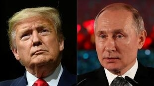 US President Donald Trump and Russia's Vladimir Putin discussed arms control issues in a phone call