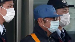 كارلوس غصن أثناء خروجه من السجن في 6 مارس 2019