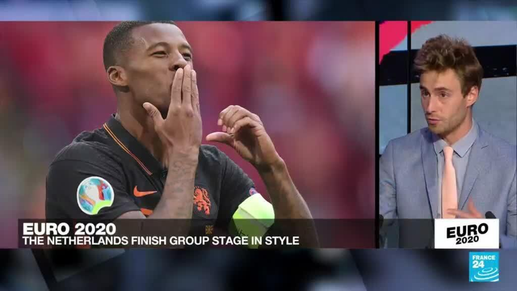 2021-06-21 23:52 Euro 2021: The Netherlands finish group stage in style