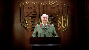 Khalifa Haftar le 27 avril 2020.