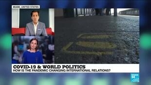 2020-06-10 14:17 Covid-19 & World Politics: Growing Tensions