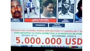 Ladislas Ntaganzwa (deuxième photo) est l'un des neuf accusés encore recherché par le TPIR.