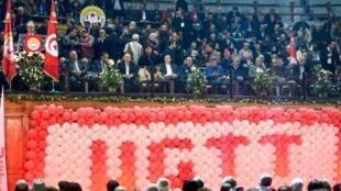 افتتاح المؤتمر الثالث والعشرين للاتحاد العام التونسي للشغل