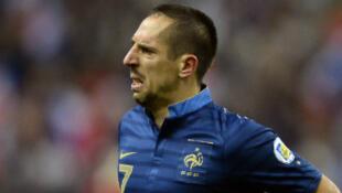 Le Français Franck Ribéry