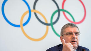 Le président du Comité international olympique, Thomas Bach, le vendredi 9 juin 2017, à Lausanne.