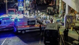 اعتداء مطار إسطنبول حزيران/يونيو 2016