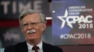 John Bolton, le nouveau conseiller à la sécurité nationale, ici photographié le 22 février 2018 à la convention conservatrice CPAC