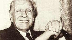 Jorge Luis Borges. Archivo.
