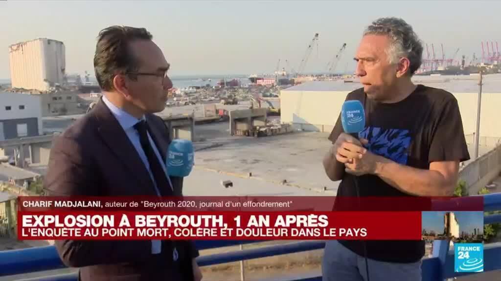 """2021-08-04 17:23 Explosion à Beyrouth, un an après : """"Tout le monde veut en finir avec ce système mafieux"""""""