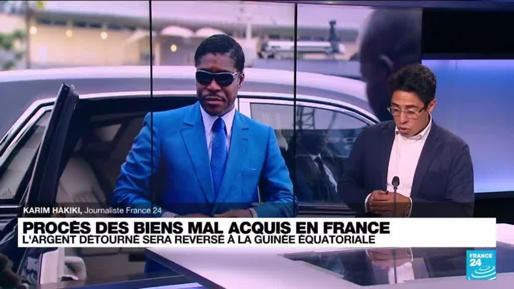 2021-07-28 15:00 Teodorin Obiang condamné : l'argent détourné sera reversé à la Guinée équatoriale