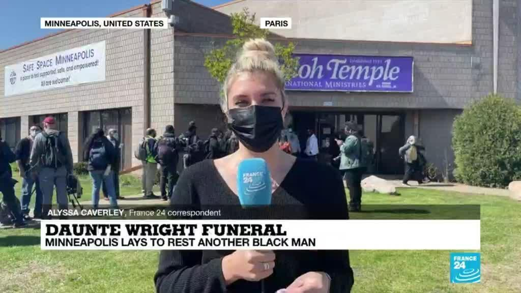 2021-04-22 18:06 Daunte Wright funeral: After milestone police verdict, Minneapolis lays to rest another Black man