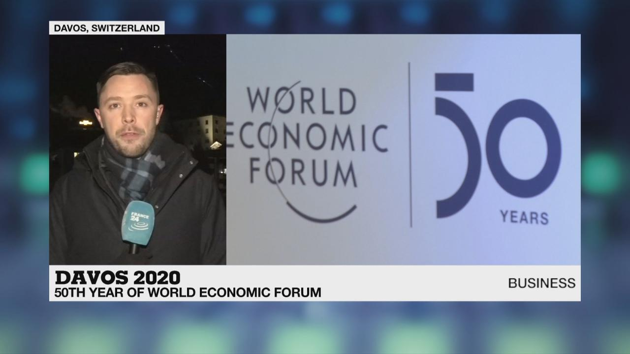 Stephen Carroll reports from the World Economic Forum.