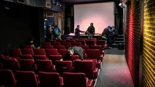 Seats, films and posters are among the items being sold after the closure of the Beverley, the last X-rated cinema in Paris