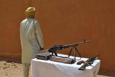 Photo de Sultan Ould Bady après sa reddition