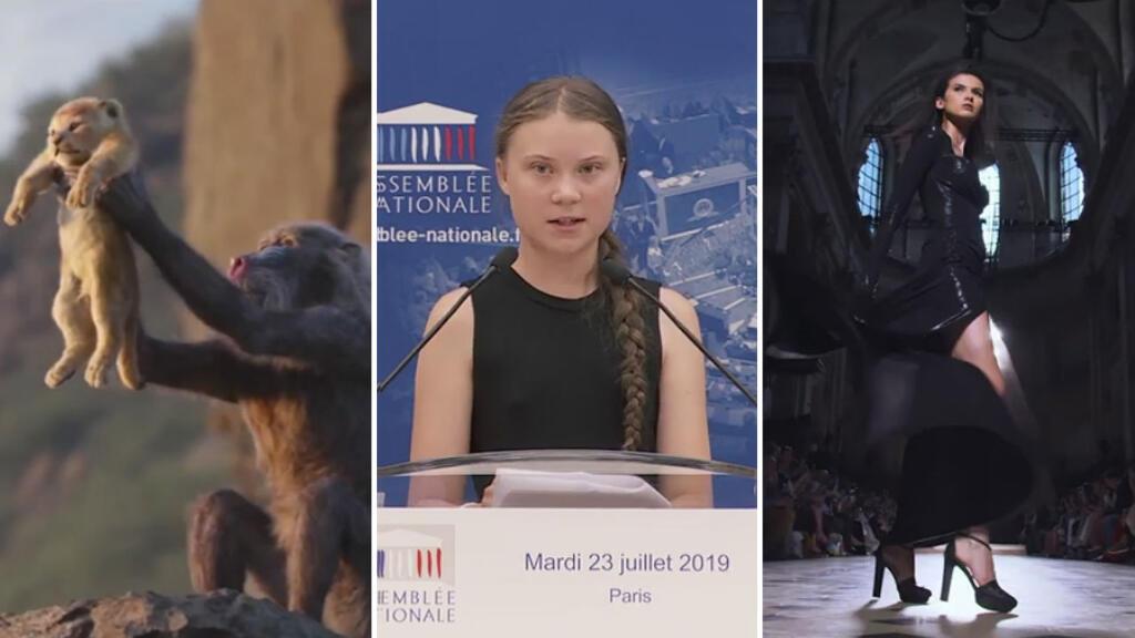 Week in Review: Libya's rebel commander, eco activist Greta Thunberg addresses France's parliament & toxic algae in Brittany