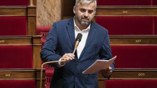 Le député France insoumise Alexis Corbière lors des questions au gouvernement à l'Assemblée nationale, le 5 mai 2020 à Paris