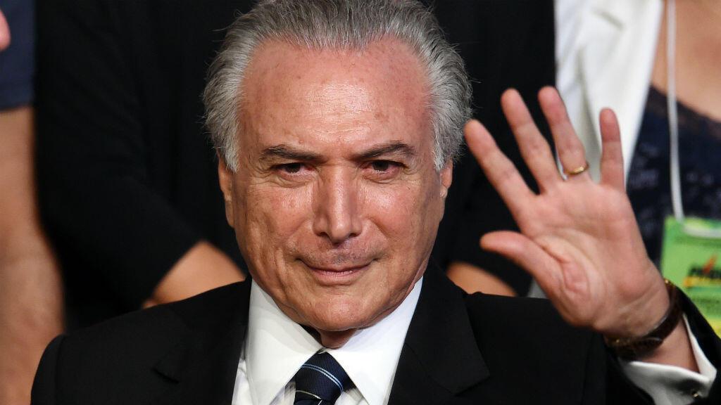 الرئيس البرازيلي المؤقت ميشال تامر