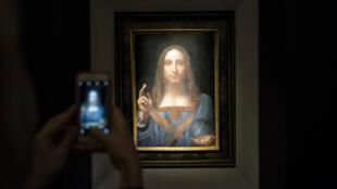 """""""Salvator Mundi"""" a été vendu pour la somme de 450,3 millions de dollars."""