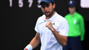 Russia's Aslan Karatsev beat Grigor Dimitrov in the quarter-finals