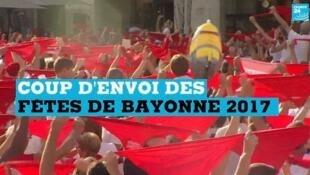 Les fêtes de Bayonne se déroulent du 26 au 30 juillet.