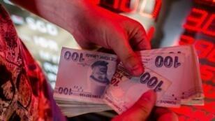 The lira's drastic fall has European banks worried