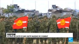 Le Japon a longtemps été réticent à créer une unité de combat amphibie en raison de sa Constitution pacifiste.