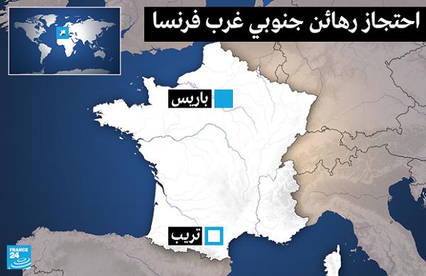 مدينة تريب (جنوبي غرب فرنسا) على الخارطة