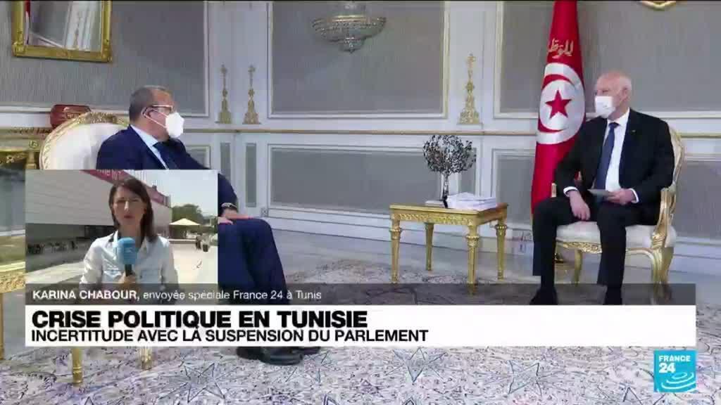 2021-07-29 13:10 Crise politique en Tunisie : incertitude mêlée à une crise sanitaire et économique