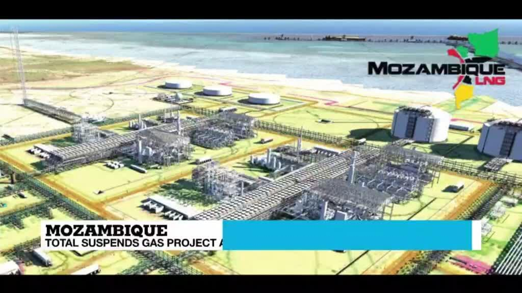 2021-04-27 13:06 French energy giant halts major Mozambique gas project following attacks