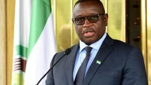 """With immediate effect, sexual penetration of minors is punishable by life imprisonment,"" said Sierra Leone President Julius Maada Bio, speaking from the State House in the capital Freetown"