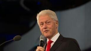 بيل كلينتون في نيويورك في 21 أيلول/سبتمبر 2016