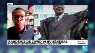2020-04-01 16:05 Hommage : Pape Diouf aura incarné l'Olympique de Marseille entre 2005 et 2009