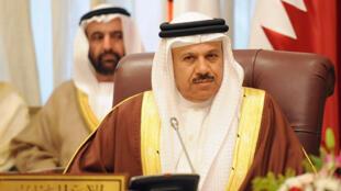 Le secrétaire général du Conseil de coopération du Golfe (CCG), Abdellatif al-Zayani, à Riyad, le 14 février 2015.