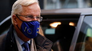 كبير المفاوضين الأوروبيين ميشال بارنييه يصل إلى لندن. 22/10/2020