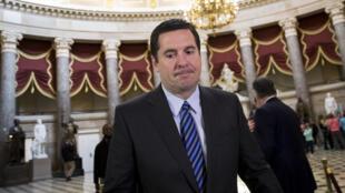Le républicain Devin Nunes est à la tête de la comission de la Chambre des représentants sur le Renseignement