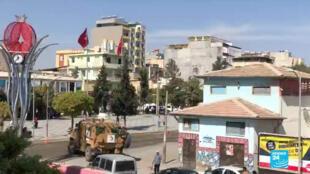Suruç, dans le sud de la Turquie.