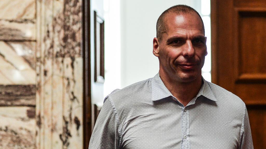 L'ancien ministre grec des Finances, Yanis Varoufakis, le 15 juillet 2015, au Parlement grec.
