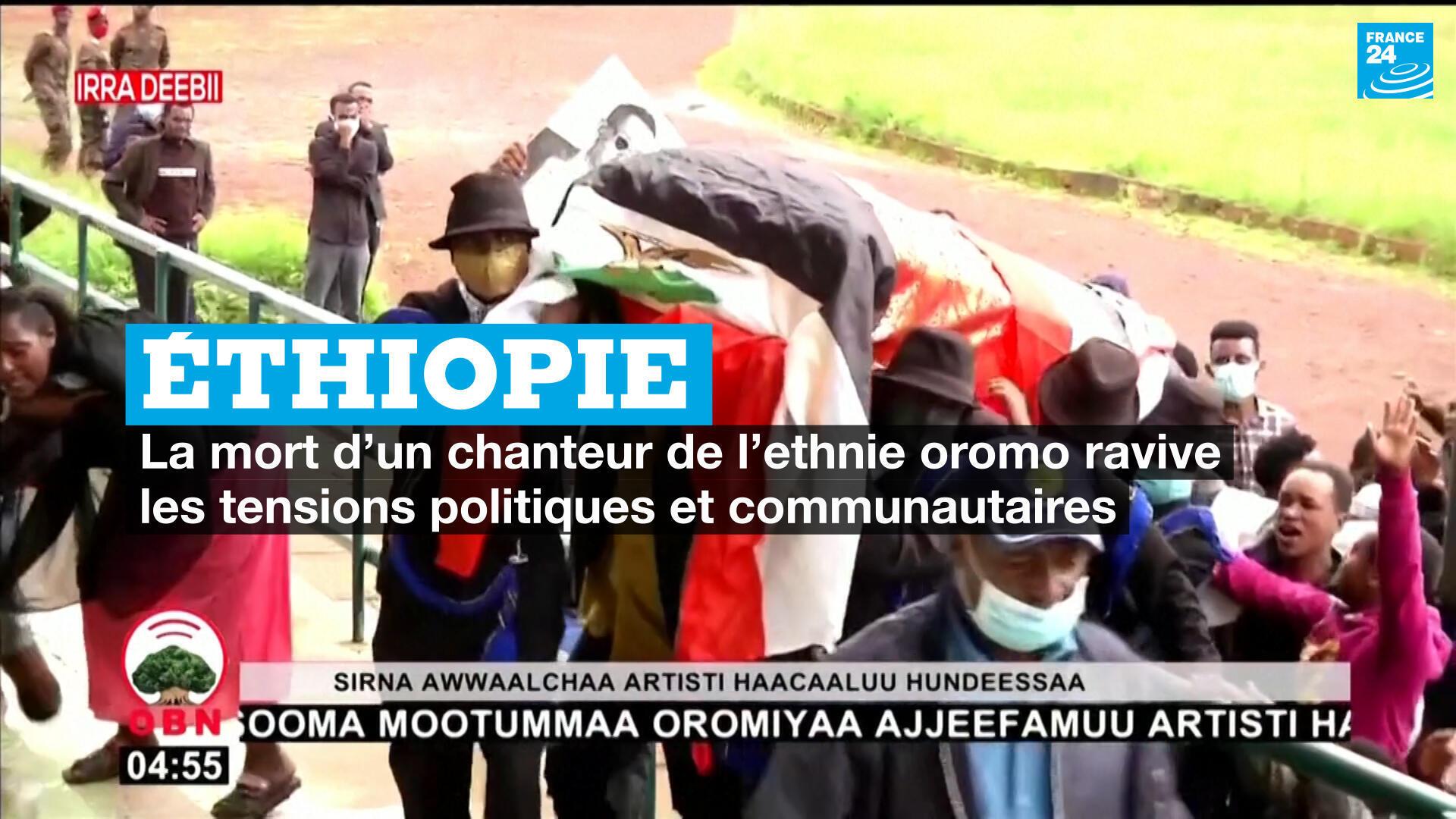 La mort d'un chanteur oromo suscite la colère de la commanauté.