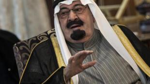 الملك السعودي الراحل عبد الله بن عبد العزيز