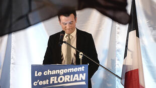 Florian Philippot, vice-président du Front national, est de plus en plus contesté en interne.