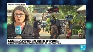 2021-03-04 10:07 Législatives en Côte d'Ivoire : une campagne électorale sans violence va s'achever