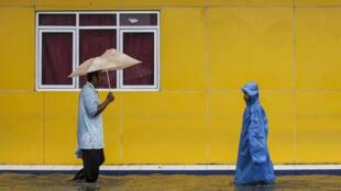 Les événéments climatiques extrêmes comme les inondations de février 2017 en Indonésie sont imputés aux rechauffement climatique