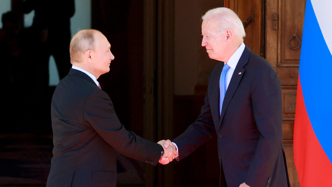 US, Russia agree to 'advance mutual interests', Biden says