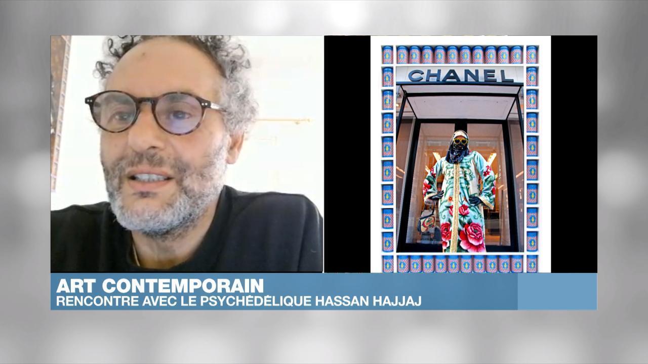 Hassan Hajjaj, invité d'Afrique Hebdo