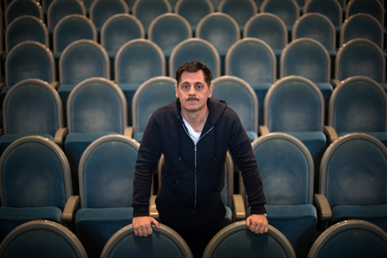 Imagen de archivo. El actor, director y presidente del Festival de Teatro de Aviñón, Olivier Py, durante una sesión de fotos en el Teatro Graslin en Nantes, el 8 de noviembre de 2019.