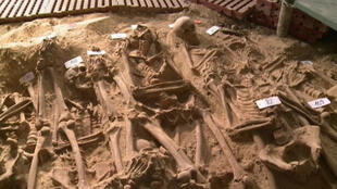 Archaeologists have unearthed more than 200 skeletons beneath a Paris supermarket