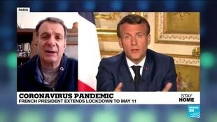2020-04-14 13:03 Analysis of Macron's lockdown speech