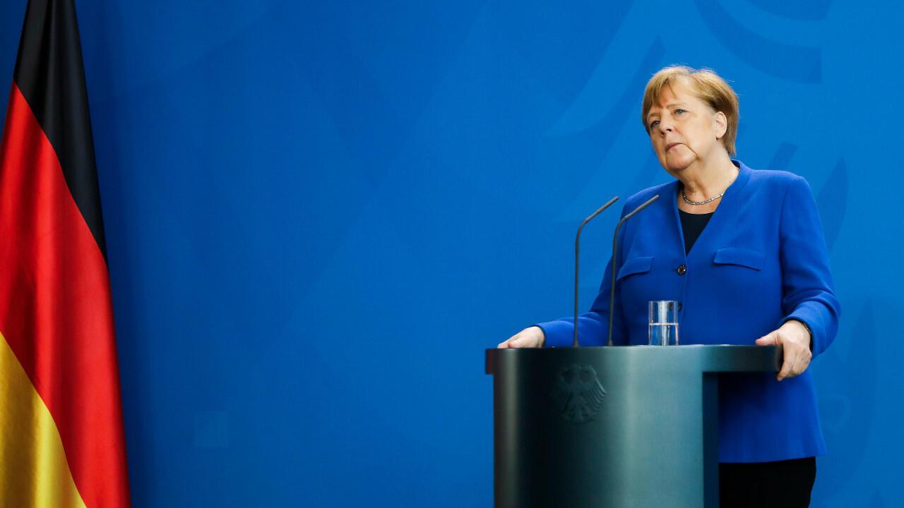 L'espion égyptien présumé travaillait pour le service de presse de la chancelière Angela Merkel.
